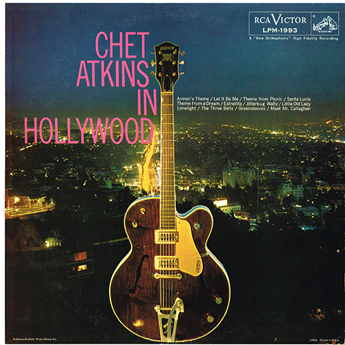 Chet Atkins - Chet Atkins In Hollywood [Mono] (RCA LPM-1993) (1959)