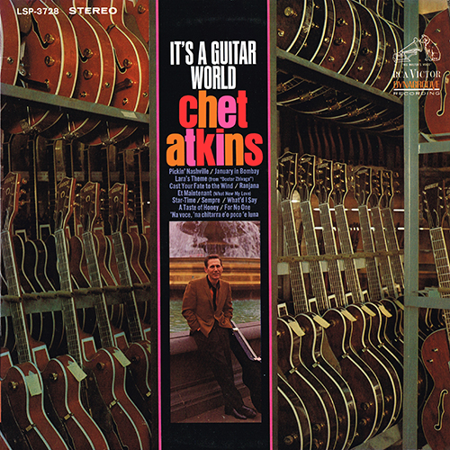 Chet Atkins - It's A Guitar World (RCA LSP-3728) (1967)