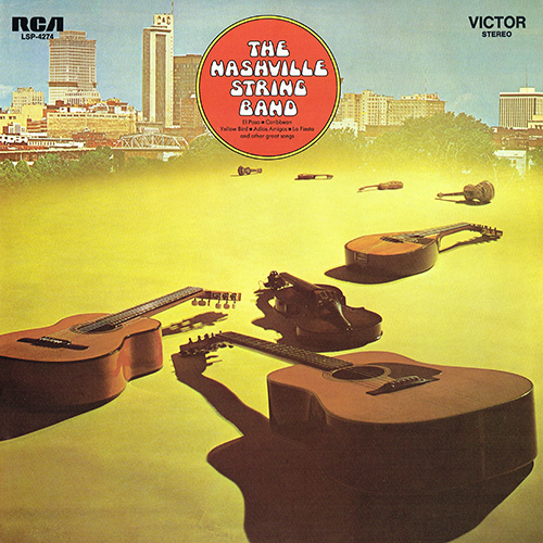 Chet Atkins - The Nashville String Band (Atkins - Homer And Jethro) (RCA LSP-4274) (1969)