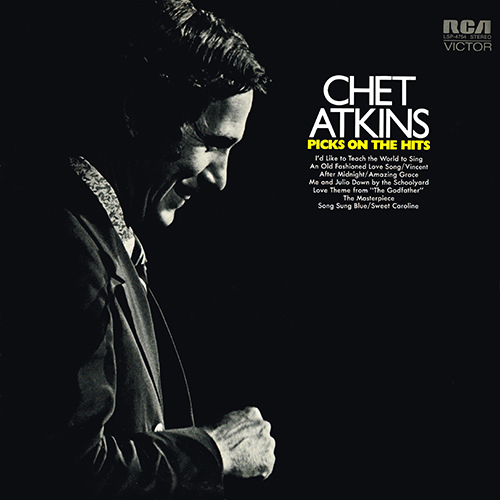 Chet Atkins 1972 Picks On The Hits (RCA LSP-4754)