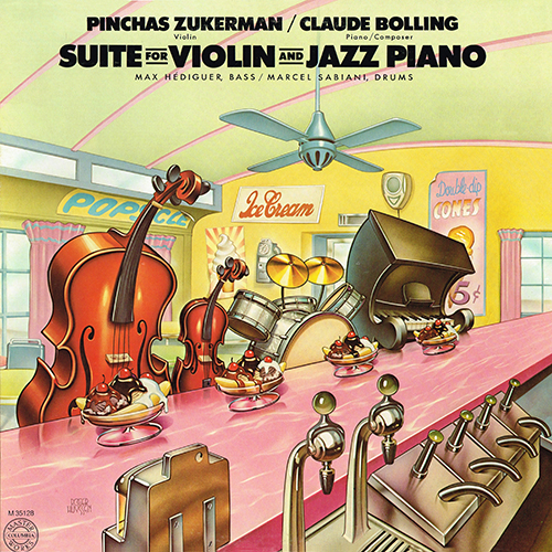 Claude Bolling - Suite For Violin And Jazz Piano [CBS M 35128] (1978)