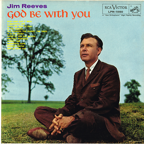 Jim Reeves - God Be With You [Mono] (RCA LPM-1950) (1959)