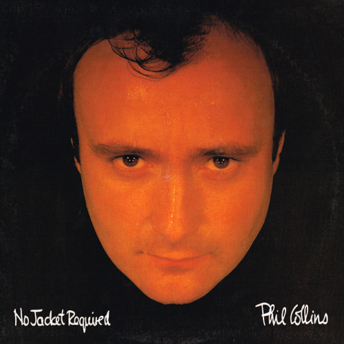 Phil Collins - No Jacket Required (Atlantic 781240-1) (1985)