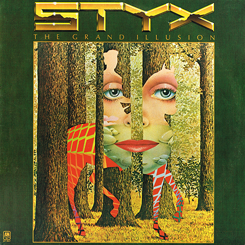 Styx - The Grand Illusion (A&M SP-4637) (1977)