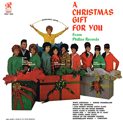 Various Artists - A Christmas Gift For You (Philles PHLP 4005) (1963)