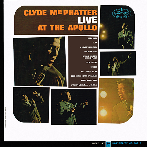 Clyde McPhatter - Live At The Apollo [Mono] [Mercury MG 20915] (1964)