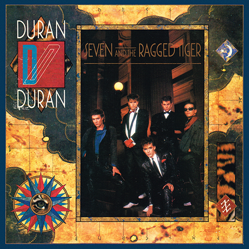 Duran Duran 1983 Seven And The Ragged Tiger (Capitol ST-12310)