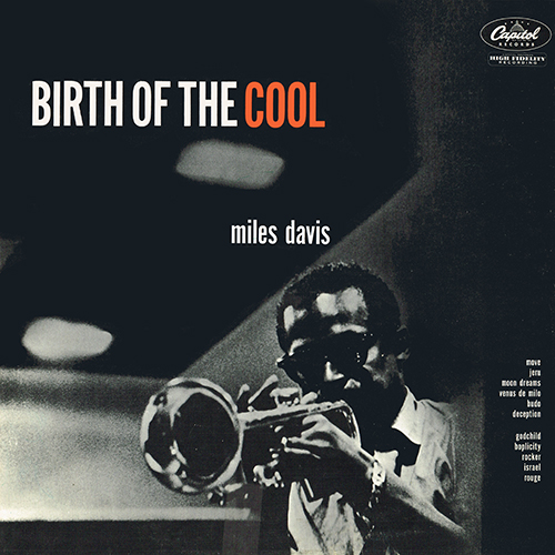 Miles Davis 1957 Birth Of The Cool (Capitol T762)