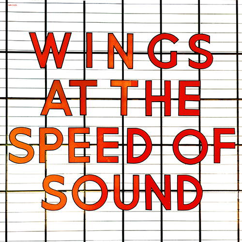 Paul McCartney / Wings 1976 At The Speed Of Sound (Capitol SW-11525)